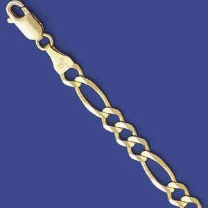 Figaro Necklace, Approximate width 4.5MM