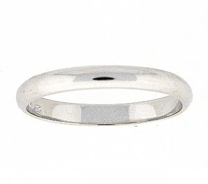 3 MM Sterling Silver High Polished Band