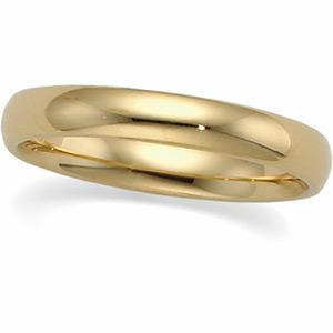 3mm Mens Comfort fit Wedding Band  -     Lavish your man with this dashing 14 karat yellow gold men's wedding band that combines pure classiness with pure love. He deserves it.