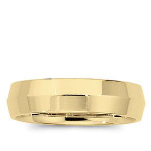 6 MM Knife Edge Comfort Fit Wedding Band
