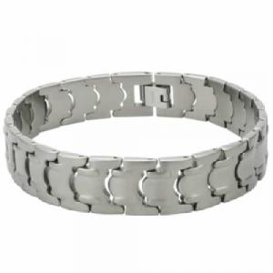 Titanium Bracelet -Awesome Titanium Bracelet with Matte Finish and unique Design.