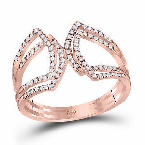 0.25 c.t.w Diamond Fashion Band in 10 Karat Rose Gold