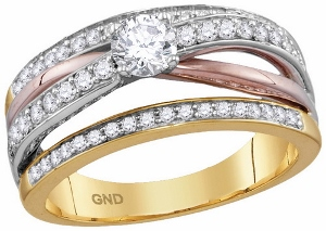 0.75 c.t.w Diamond Fashion Ring in 14 Karat Gold