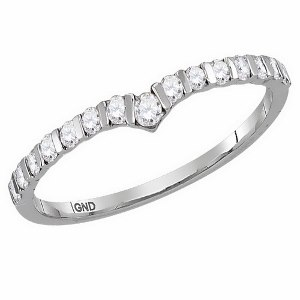 0.25 c.t.w Diamond Fashion Ring in 14 Karat White Gold