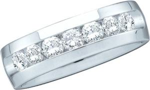 0.25CT DIAMOND MACHINE SET BAND