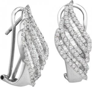 1.35CTW DIAMOND FASHION EARRINGS
