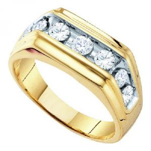 1.00CTW DIAMOND FASHION MENS BAND