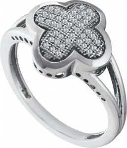 0.15CT DIAMOND MICRO PAVE RING - Wear your faith in bold style with impressive micro pave set  diamonds set in  10 kt white gold ring truly makes an  impression in the most handsome display  with diamonds totaling  0.15 ct. t.w.