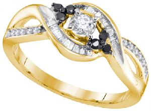 0.30CTW DIAMOND FASHION RING