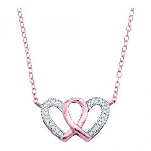 0.10CTW DIAMOND FASHION NECKLACE