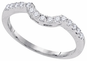 0.25 c.t.w Diamond Enhancer in 14 Karat White Gold
