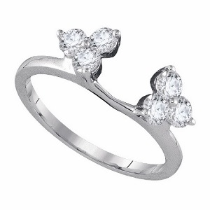 0.75 c.t.w Diamond Enhancer in 14 Karat White Gold