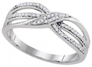 0.11CTW DIAMOND FASHION RING