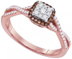 0.33CTW DIAMOND FASHION RING
