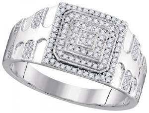 0.33CTW DIAMOND MICRO-PAVE RING