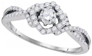 0.41CTW DIAMOND FASHION RING