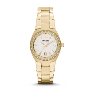 Colleague Three-Hand Date Stainless Steel Watch – Gold-Tone. Easy, elegant and just right for the season—our stylish Colleague shines with a classic gold bracelet and sparkling crystal dial.