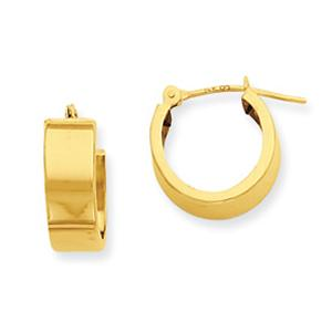 14 Karat Tubular Earrings                 -                                                    These classy small huggie hoop earrings of 14 karat yellow gold are as simple in design as they are versatile in use. Solid yet tiny, these sweet hoops will be perfect for your everyday.