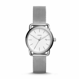 Three-Hand Date Stainless Steel Watch--Made to your standards, this watch meets your work to weekend needs with its iconic construction and clean aesthetic. Stainless steel watch straps are extremely durable and can last the lifetime of a watch if properly maintained.